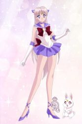 Sailor Aurora and Yoake by CrystalSailorMoon