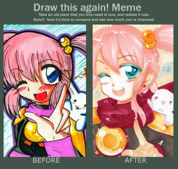 Draw this again! meme by Hibarinrinrin