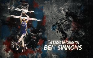 Ben Simmons  - Rookie of the Year by AYGBMN