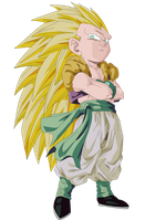 Gotenks Render/Extraction PNG by TattyDesigns
