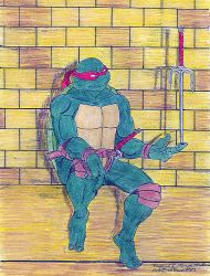 Raphael - a Rare Moment - CP by whitewolf89