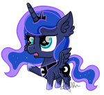 Chibi Luna by SpokenMind93