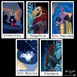 The Forgotten Ones (Cards)- University by NukaPooka