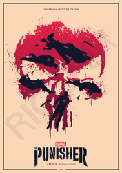 THE PUNISHER Poster Art by RicoJrCreation