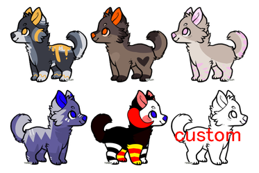 CANINE ADOPTS / DOG ( OPEN 5/6 ) ENDING SOON by belmew