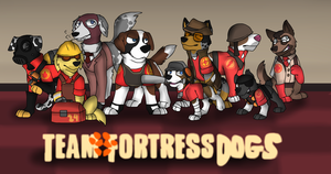 Team Fortress DOGS by the-little-sealy