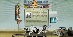 Rock and Roll website by D72