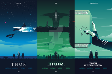 THOR Trilogy by RicoJrCreation