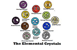 The Elemental Crystals by Joey245