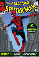 Spider-Man 60's cover by Tloessy