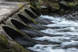 Escaping River by OlivierAccart