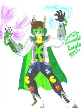 Emerald Knight Version 2.0 by Winter-Colorful