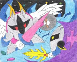 Battle for the strongest by syani123