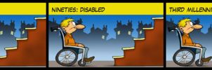 Disabled's evolution by MasterLudus