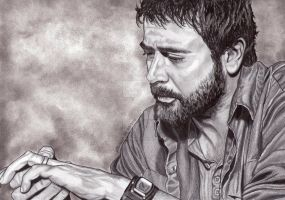 John Winchester by lupinemagic