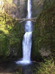 Multnomah Falls by mellybear