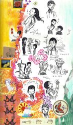 page - days in the life, colorful characters by sweet-suzume