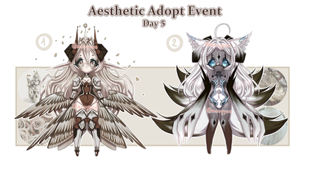 Aesthetic Event: Day 5 [2/2 OPEN] by Mewpyonadopts