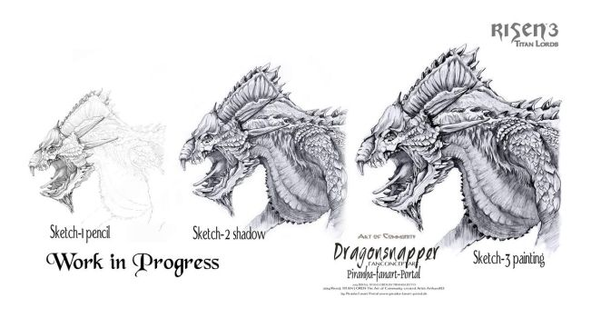 Risen3 Dragonsnapper Workflow by ArthusokD