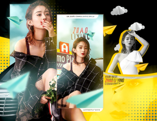 ZHAO LI YING / ROAD TO THE WEST // WEB by Junneemy