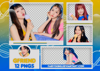 [PNG PACK #666] GFriend - (Sunny Summer). PT2 by fairyixing