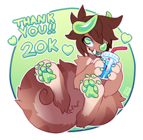 TY for 20k! by ground-lion