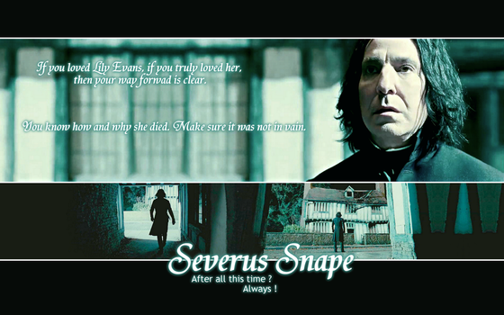 [OLD] Snape's Way by PrinceVoldy-TLK