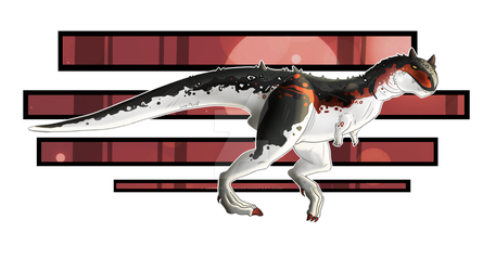 Carnotaurus adopt OTA [CLOSED] by Savage-Mojo
