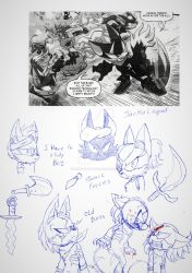 JACKAL SQUAD PEN SKETCHES by LovecatsDYV