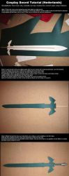 Cosplay Sword Tutorial (Dutch) by Oloring