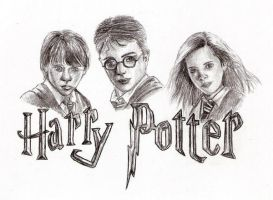 Harry Potter by Aura3107