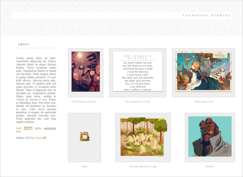 Champagne Bubbles 3.0 Gallery CSS (Retired) by Gasara