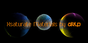 XSaturate Material Pack by AKLP