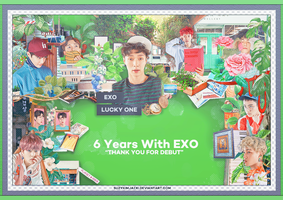 [SHARE PSD] 6 YEARS WITH EXO #Lucky One @EXO by SuzyKimJaeXi