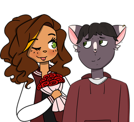 (COLLAB) Are these roses or red cinnamon buns? by ChocoHoliq