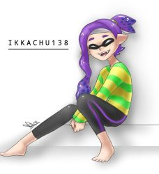 This purple inkling by Aliplayer005