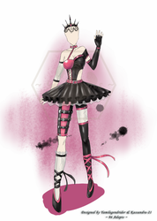 Punk Ballerina Outfit(CLOSED) by 96-Adopts