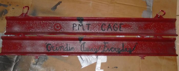 Target P.M.T. Cage Sign I by lizking10152011