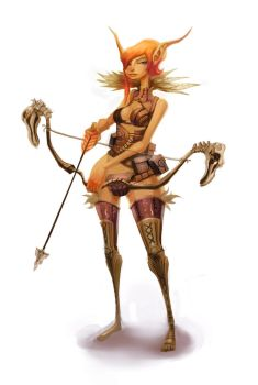 Wood Elf Rocknroll by Beezul