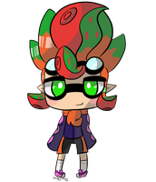 Squid Kiddo by SleepyStaceyArt