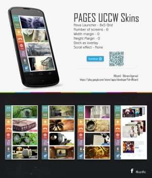 Pages theme for Android by bagarwa