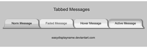 Tabbed Messages by easydisplayname