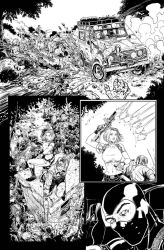 Danger Girl and Army of Darkness #5 page 12 by crisbolson