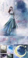 Luna Fae Backgrounds by cosmosue