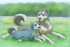Ginga: Father and Son by Lifefantasyx