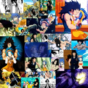 Favorite Moments with Gajeel and Levy by KopyKunoichi