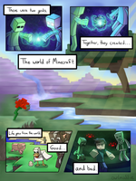 Shattered Light: A Herobrine Comic - Page 1 by owlmaddie