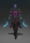 Commission- Nightborne by nozomi-M