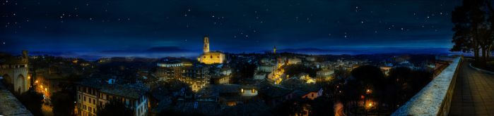Perugia by night by bettaskate89