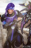 God of Chaos - Caius Ballad Cosplay FFXIII-2 by LC by LeonChiroCosplayArt